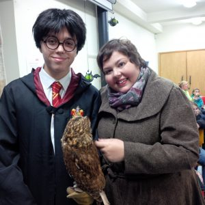 Harry Potter and Elizabeth Webster meet Girlie